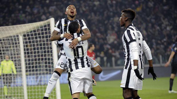 Vidal memiliki utang saat masih bermain untuk Juventus.