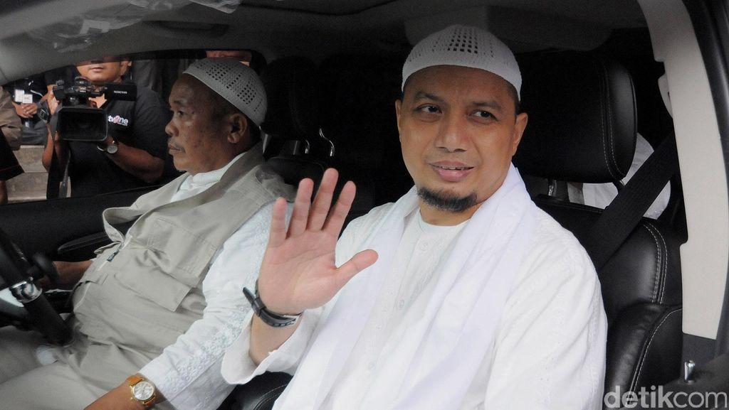 Ustaz Arifin Ilham Dirawat, HNW Menuju RSCM
