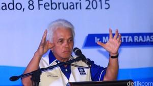 Eks Ketum PAN Hatta Rajasa Merapat ke Kediaman SBY