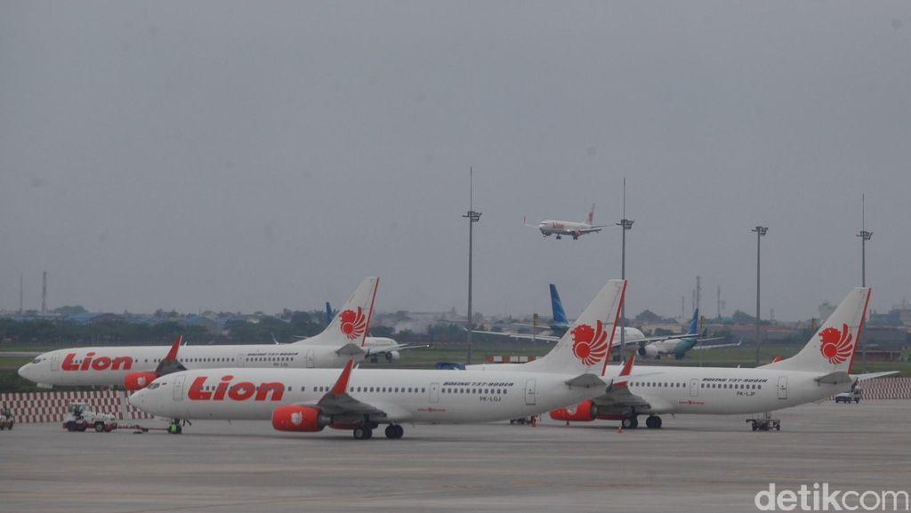 Penerbangan Lion Air Jakarta-Jogja Alami Gangguan Listrik di Soeta