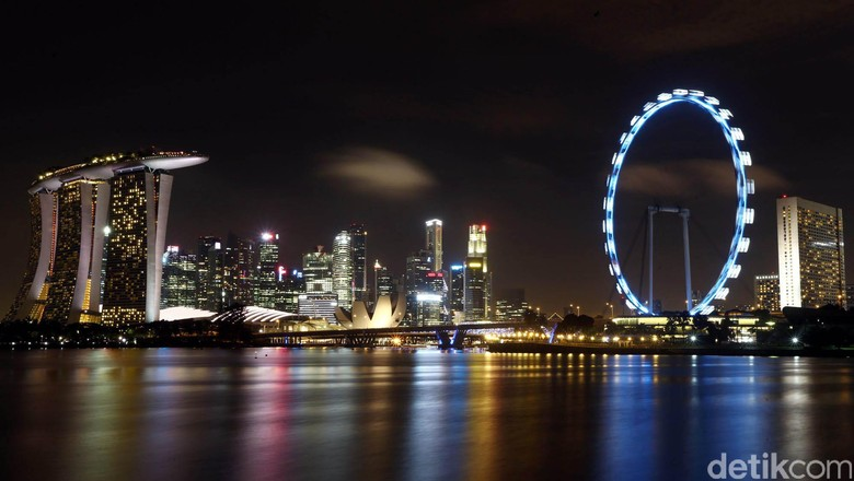 Ilustrasi Singapura (Agung Pambudhy)