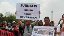 Jurnalis TV Dipukul Saat Liput Pawai Obor Asian Games di Jambi