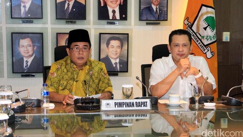 Bambang Soesatyo Ditunjuk Jadi Ketua Komisi III DPR