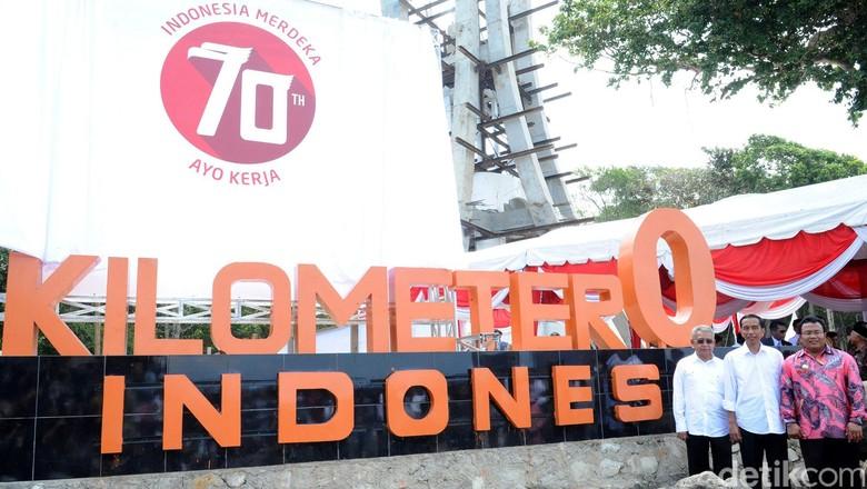 Perjalanan Lengkap Jokowi ke Ujung-ujung Indonesia