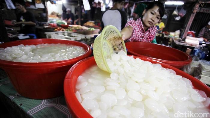 Manfaat kolang kaling untuk kesehatan ada berbagai macam.  (Foto ilustrasi: Rachman Haryanto)