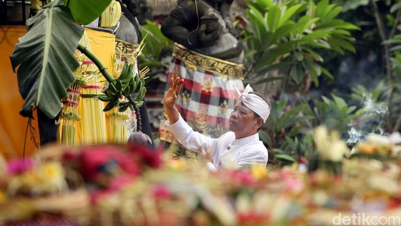 Ilustrasi masyarakat Bali (Rengga Sancaya/detikcom)