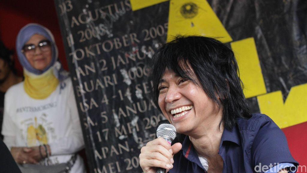 Jadi Penyelenggara Konser Putih, Abdee Slank Serukan Jokowi 2 Periode