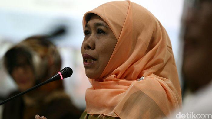 Khofifah Indar Parawansa (Foto: Agung Pambudhy/detikcom)