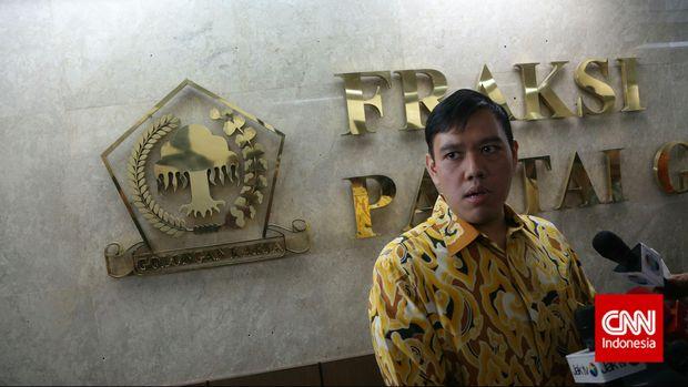 Politikus Partai Golkar Dave Akbarshah Fikarno.