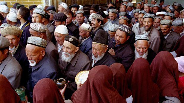 Ilustrasi Muslim di China.