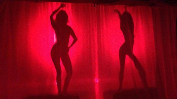 Ilustrasi prostitusi.