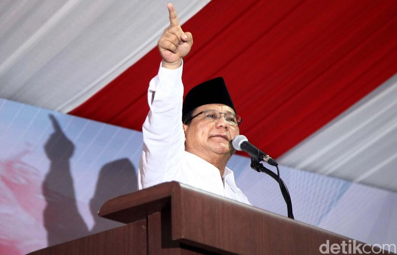 Bicara Kursi Ketum Gerindra, Prabowo: Partai Ini Bukan Milik Saya