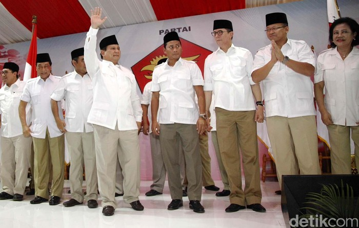 DPP Gerindra (Rachman Haryanto/detikcom)