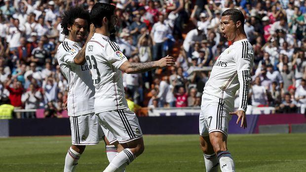 Menurut Isco Madrid tak perlu menangis kehilangan Ronaldo.