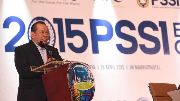 Mantan Ketua PSSI La Nyalla Mattalitti menyebut Kongres 2 November tidak sah.
