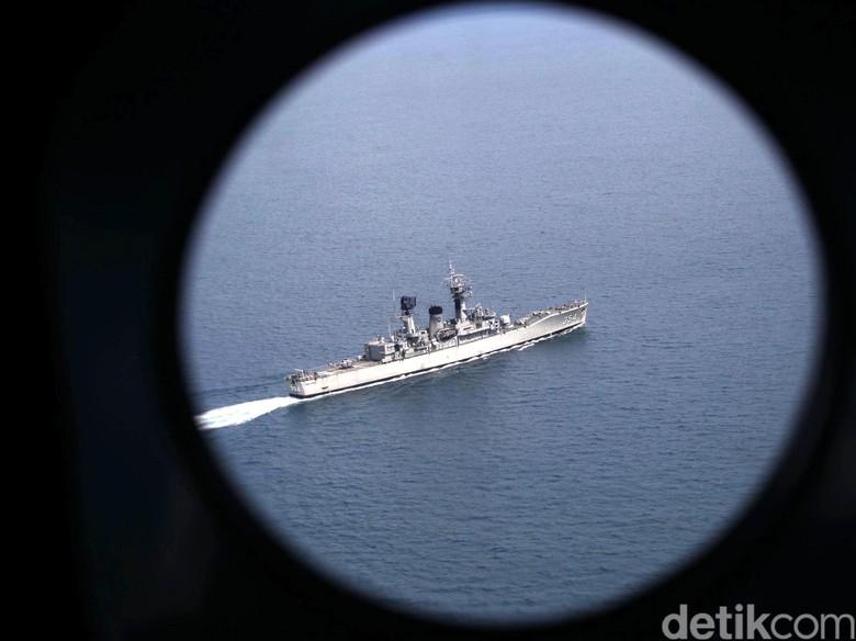 TNI AL Latihan Perang Ranjau Bersama 16 Negara di Selat Malaka
