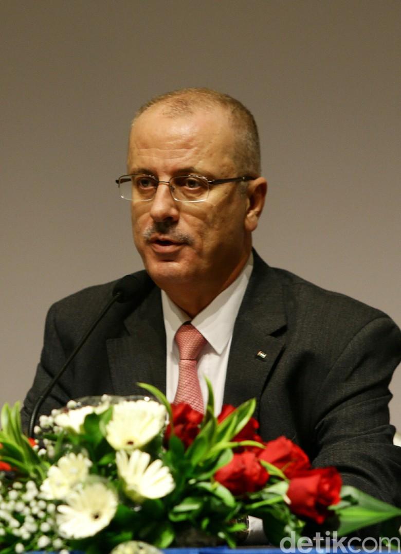 Foto: PM Palestina yang Nyaris Terbunuh di Gaza