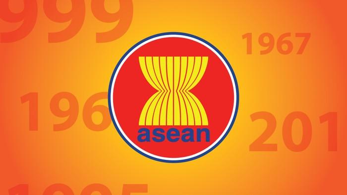 Ilustrasi Logo Asean