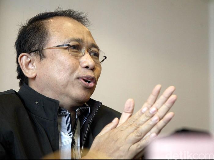 Foto: Mantan Ketua DPR Marzuki Alie. (Rachman Haryanto-detikcom)