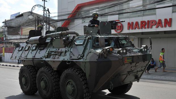 Kendaraan Taktis yang Lindungi Jokowi Selama Pelantikan