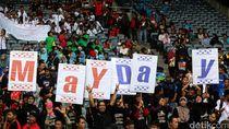Kantor Disnakertrans Jabar Jadi Pusat Perayaan May Day di Bandung
