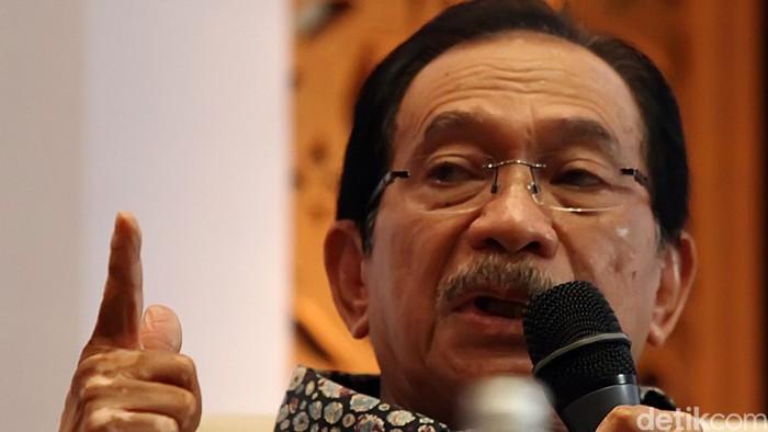 Mantan Menteri BUMN Tanri Abeng. Rachman Haryanto/detikcom.