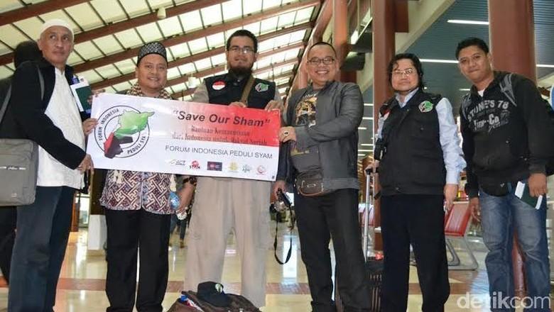Didukung DPR, Forum Indonesia Peduli Syam Bantu Pengungsi Suriah