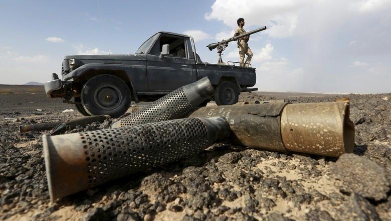 Koalisi Arab Saudi Gagalkan Serangan Houthi ke Kapal Tanker