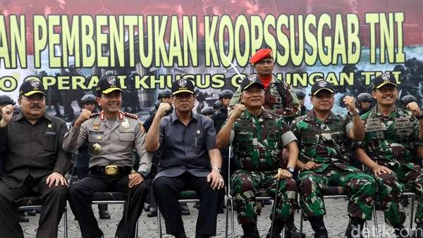Lemkapi Dukung Keterlibatan Koopssusgab untuk Berantas Terorisme