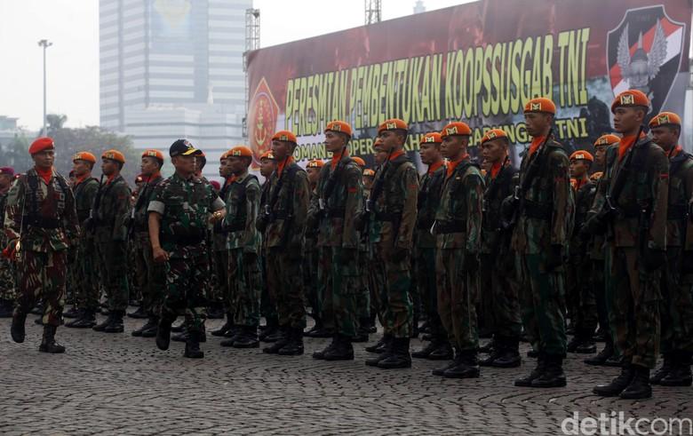Ini Landasan Pasukan Super Elite TNI Ikut Ganyang Teroris