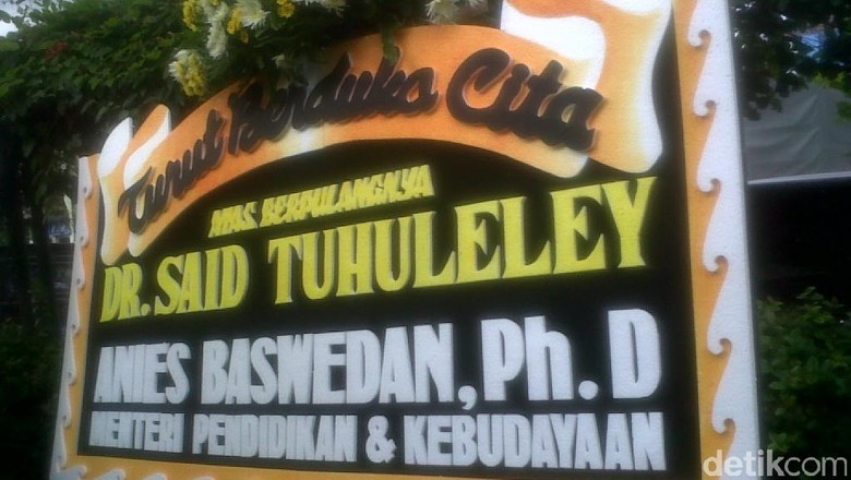 Tokoh Muhammadiyah Said Tuhuleley Wafat di Yogyakarta