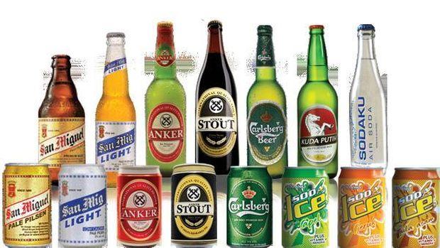 Minuman produksi Delta Djakarta.