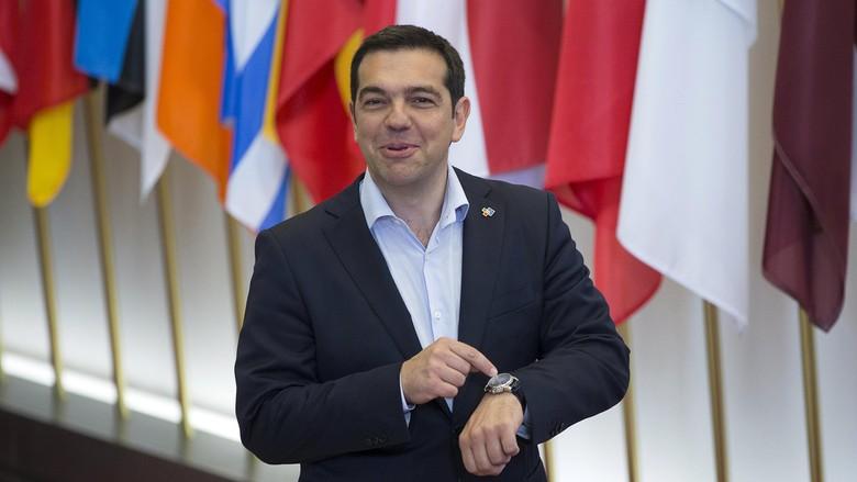 PM Yunani Alexis Tsipras Mundur