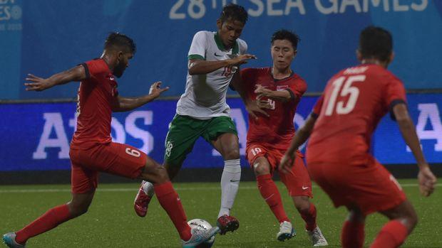 Zulfiandi menjadi salah satu hasil pembinaan pemain muda.
