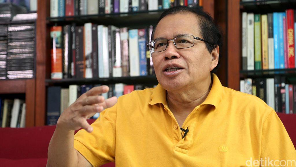 Usai Bertemu Prabowo, Rizal Ramli Sebut Ekonomi RI Lampu Merah