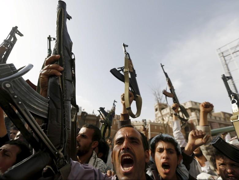 Arab Saudi Gagalkan Serangan Houthi ke Kapal Niaga di Laut Merah