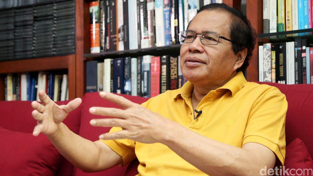 Jokowi Gencar Bangun Infrastruktur, Rizal Ramli: Dia All Out