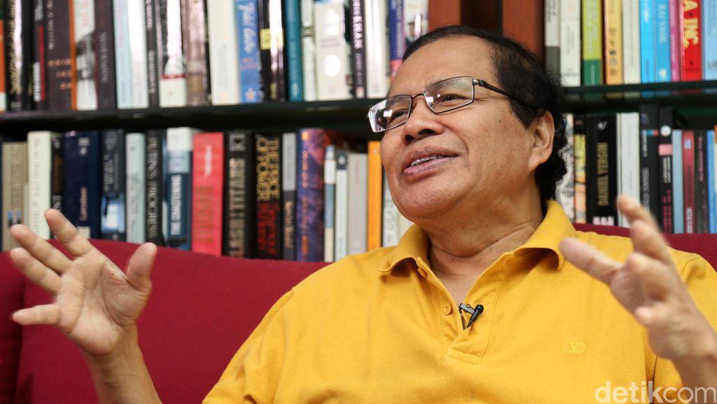 Ingin Bantu Jokowi, Rizal Ramli Godok Strategi Agar Garuda Untung