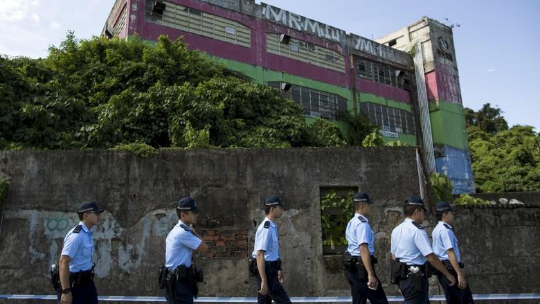 Polisi Hong Kong Sita Peledak dan Tangkap 9 Aktivis Radikal