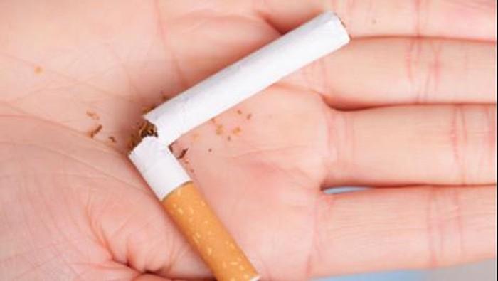 Niat kuat benar-benar dibutuhkan untuk berhenti merokok. (Foto: Thinkstock)