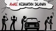 Viral Video Mobil Dilempari Batu di Medan, Polisi Turun Tangan