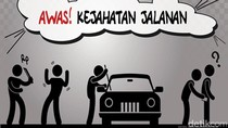Pengemudi Taksi Online di Kabupaten Bandung Dibegal Penumpang