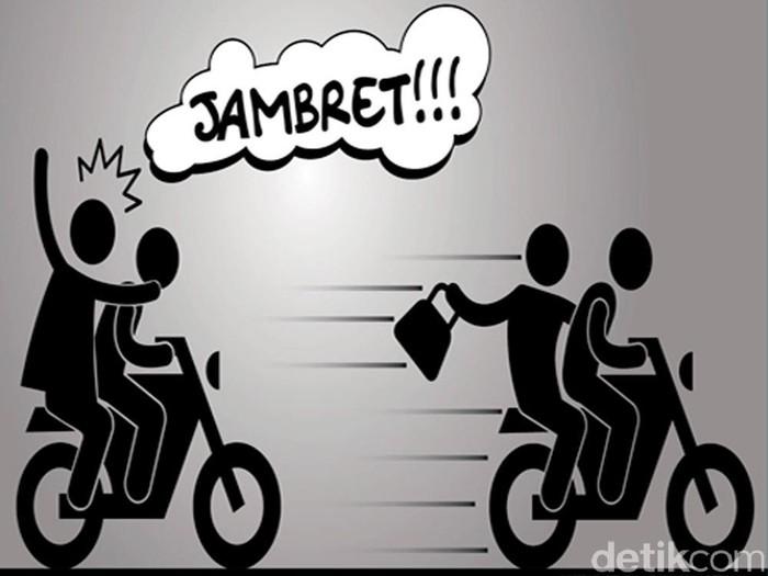 Ilustrasi Begal, Rampok, Jambret. Andhika Akbarayansyah/infografis.