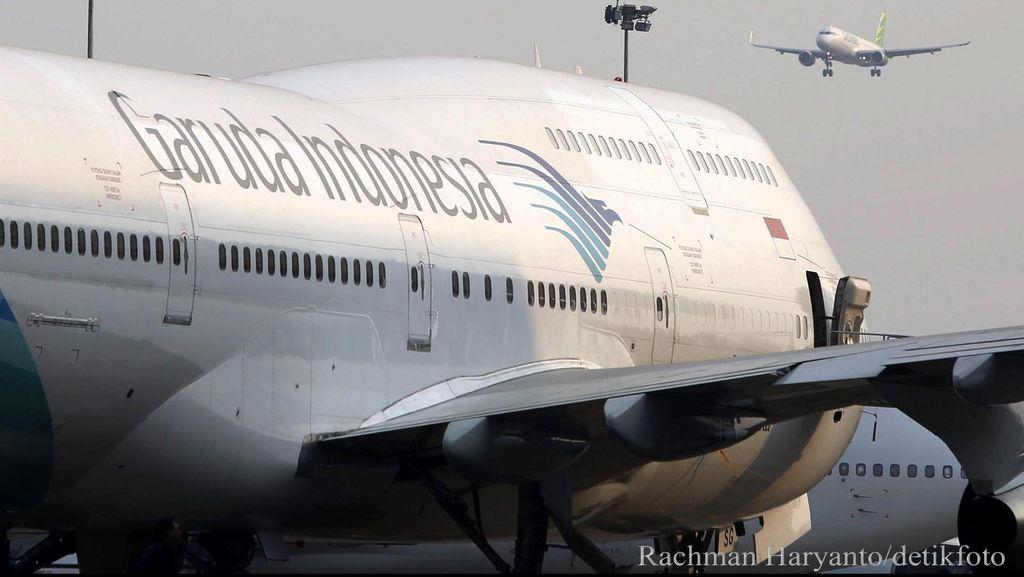 Garuda Indonesia Rugi Rp 10 T di Semester I-2020
