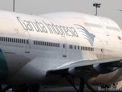 Ada Larangan Mudik, Garuda Bebaskan Biaya Reschedule Penerbangan