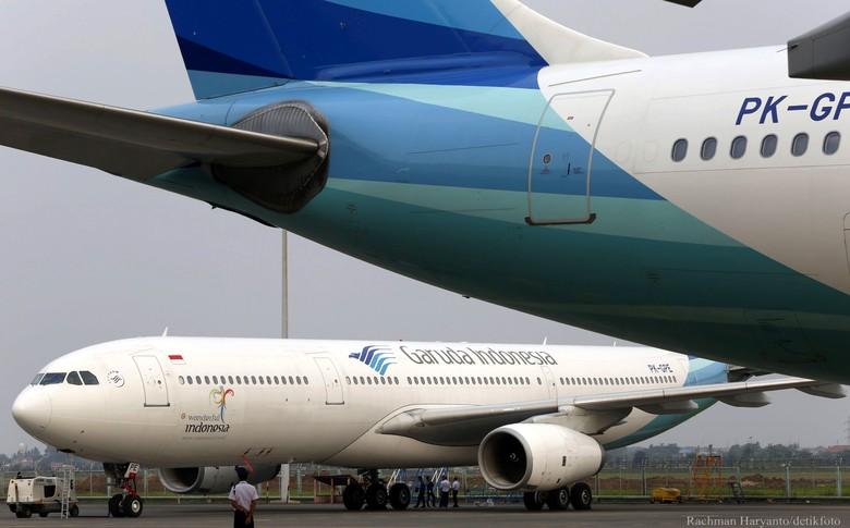Penumpang Garuda Bercanda Bawa Bom di Penerbangan ke Singapura