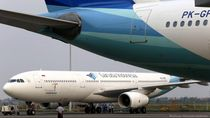 Garuda Siap Sesuaikan Aturan PSBB Masa Transisi Jakarta