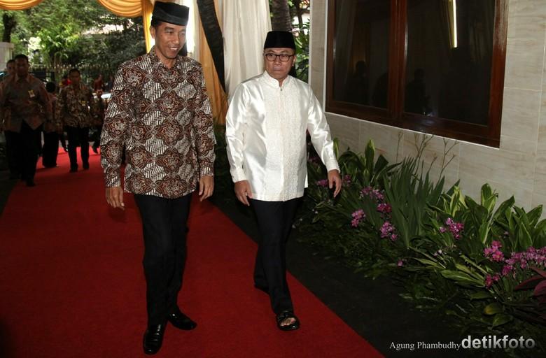 Pertemuan-pertemuan Eksklusif Jokowi-Zulkifli