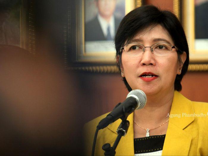Destry Damayanti calon Deputi Gubernur Senior BI/Foto: Agung Pambudhy
