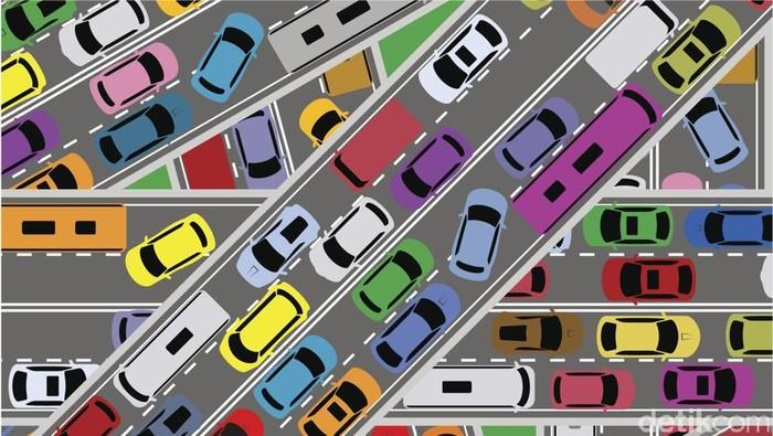 Ilustrasi Kemacetan. Andhika Akbarayansyah/detikcom.